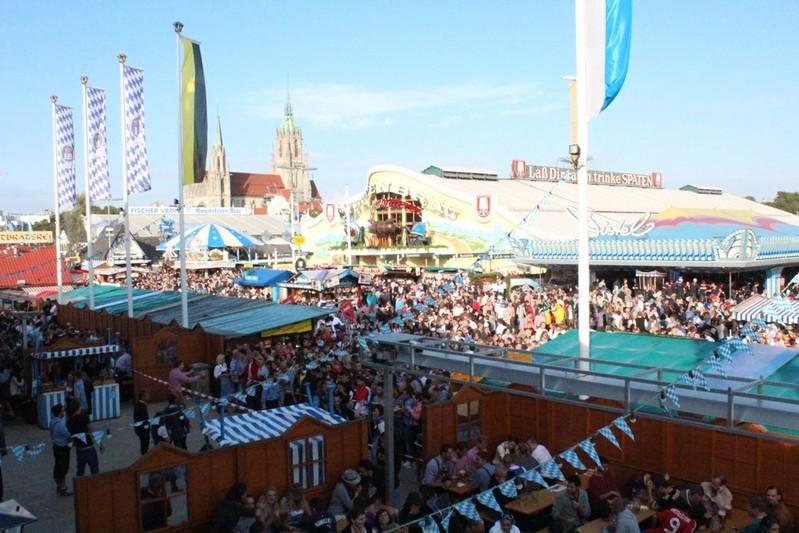 Wiesn-Festplatz Oktoberfest Webcambild