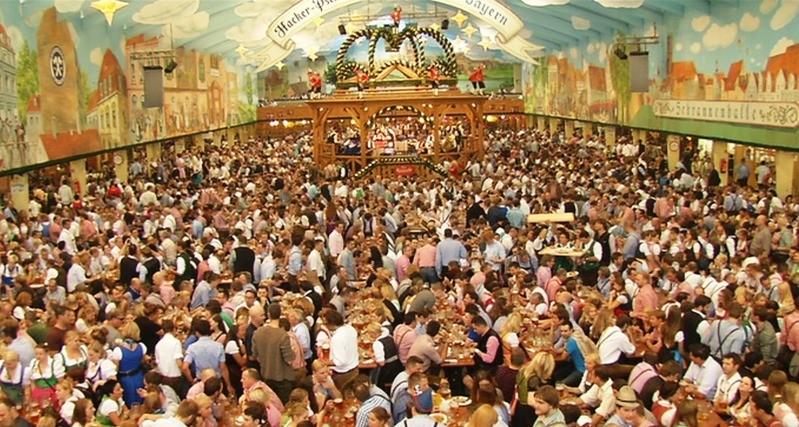 Oktoberfest München Wiesnzelt, © münchen.tv Oktoberfest 2014 Wiesnzelt