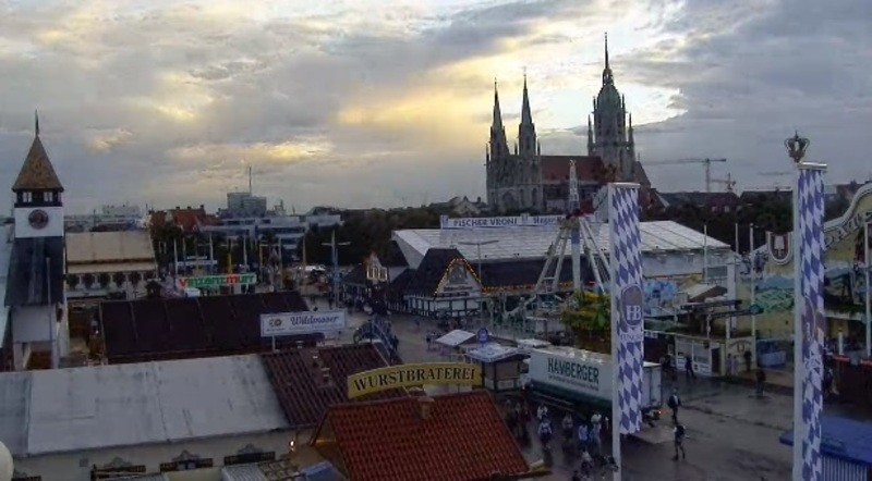 Oktoberfest Webcam 7 Uhr Morgens