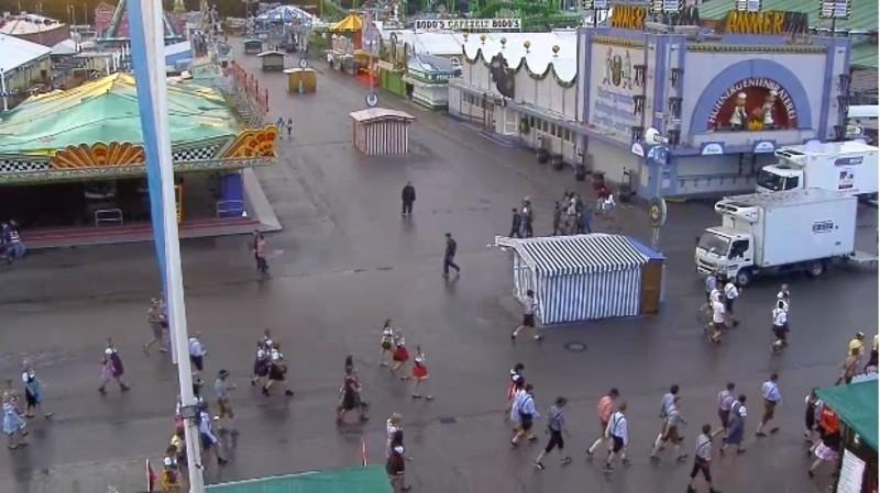webcam 7 uhr 30 Morgens oktoberfest wiesn