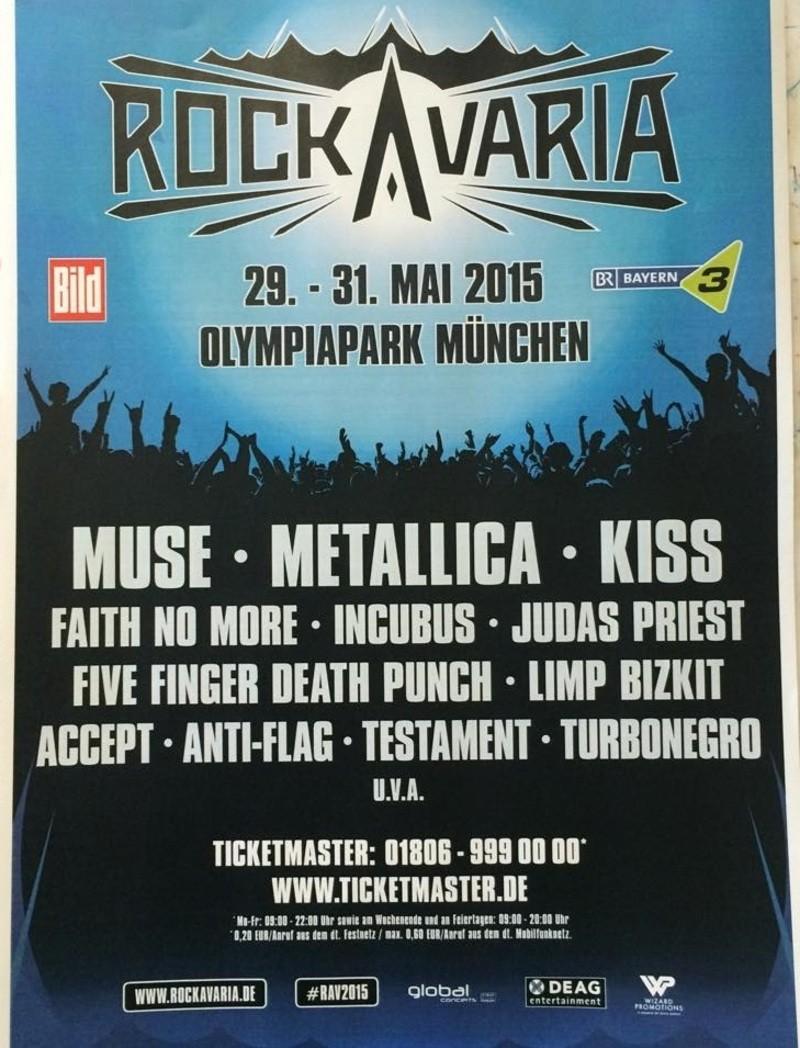 rockavaria festival olympia münchen flyer