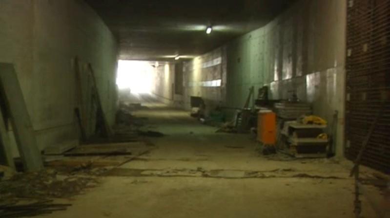 Tunnel Luise Kiesselbach Bau