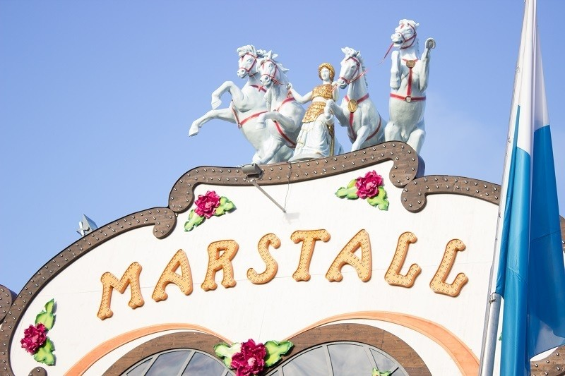 quadriga marstall festzelt oktoberfest theresienwiese