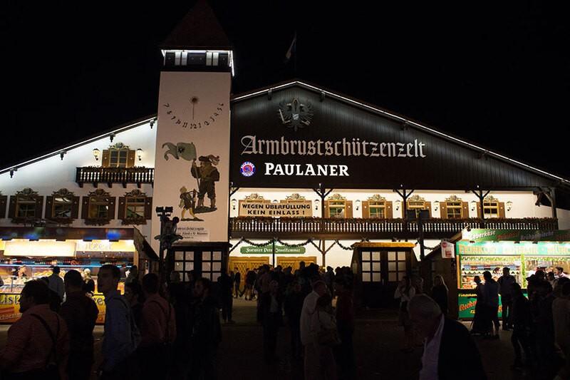 Oktoberfest München Armbrustschützen Festzelt Wiesn