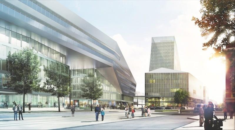 Planung Neubau Hauptbahnhof München, © Deutsche Bahn AG / Architekten Auer Weber Assoziierte