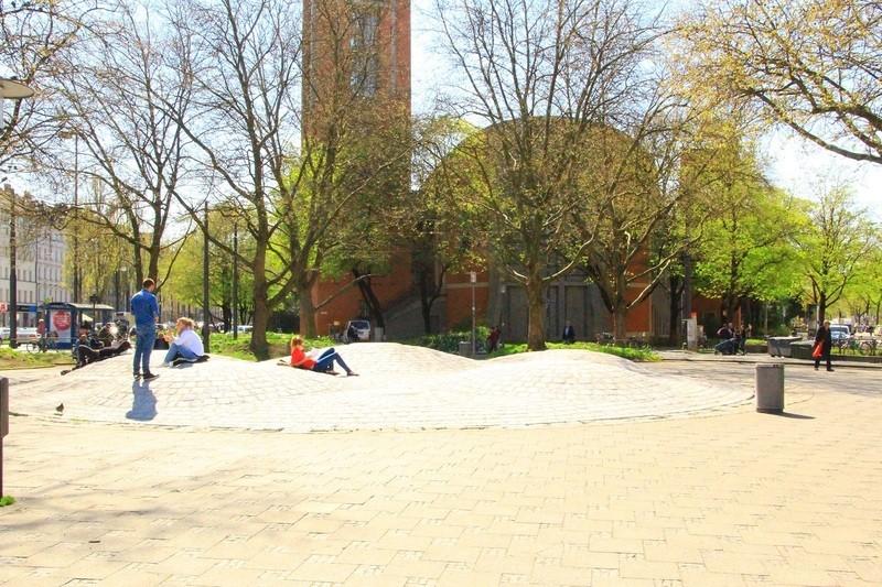 Springbrunnen am Sendlinger Tor