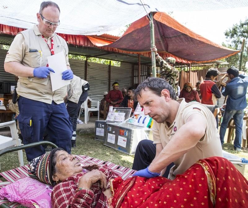 Die Johanniter helfen in Nepal, © Bild: Die Johanniter