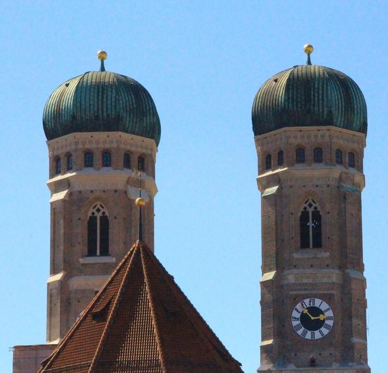 Die Münchner Frauenkirche , © Ein Münchner Wahrzeichen - die Frauenkirche