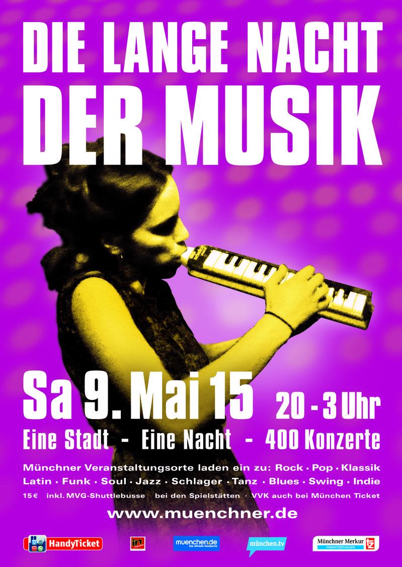 Die lange Nacht der Musik findet am 9. Mai statt.