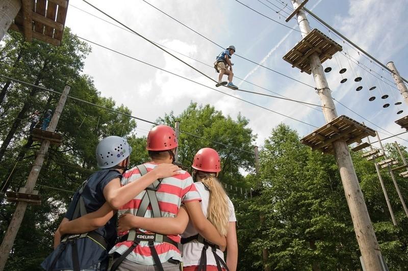 Die Kletterinsel in Fürstenfeld ist jeden Kletterliebhaber einen Besuch wert., © Foto: Kletterinsel Fürstenfeld