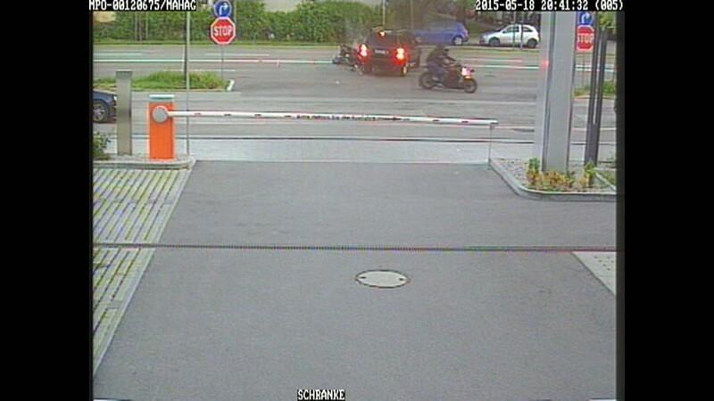 Bilder einer Überwachungskamera, © Foto: Polizeipräsidium München
