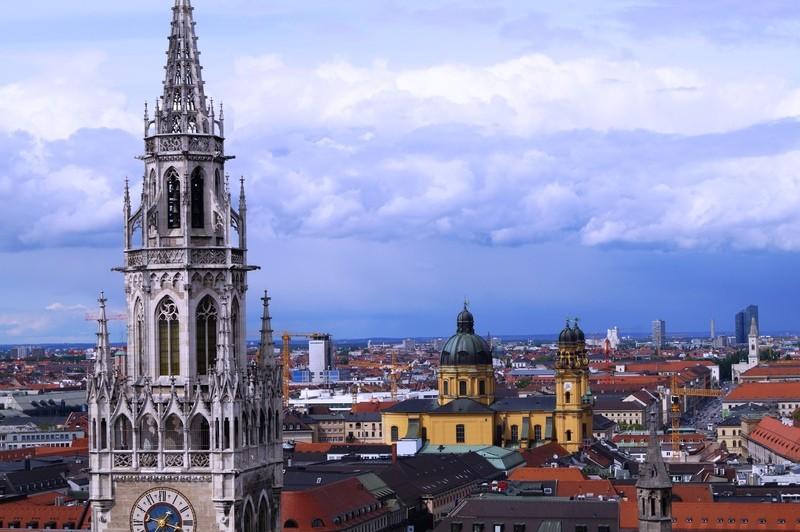 München von oben - Einfach wunderschön