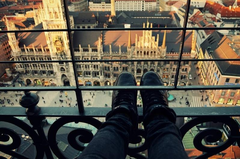 Aussicht über München aus dem alten Peter, © Traumhafter Blick aus dem Alten Peter. Foto: Zura aus München