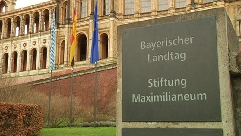 Der bayerische Landtag in München.