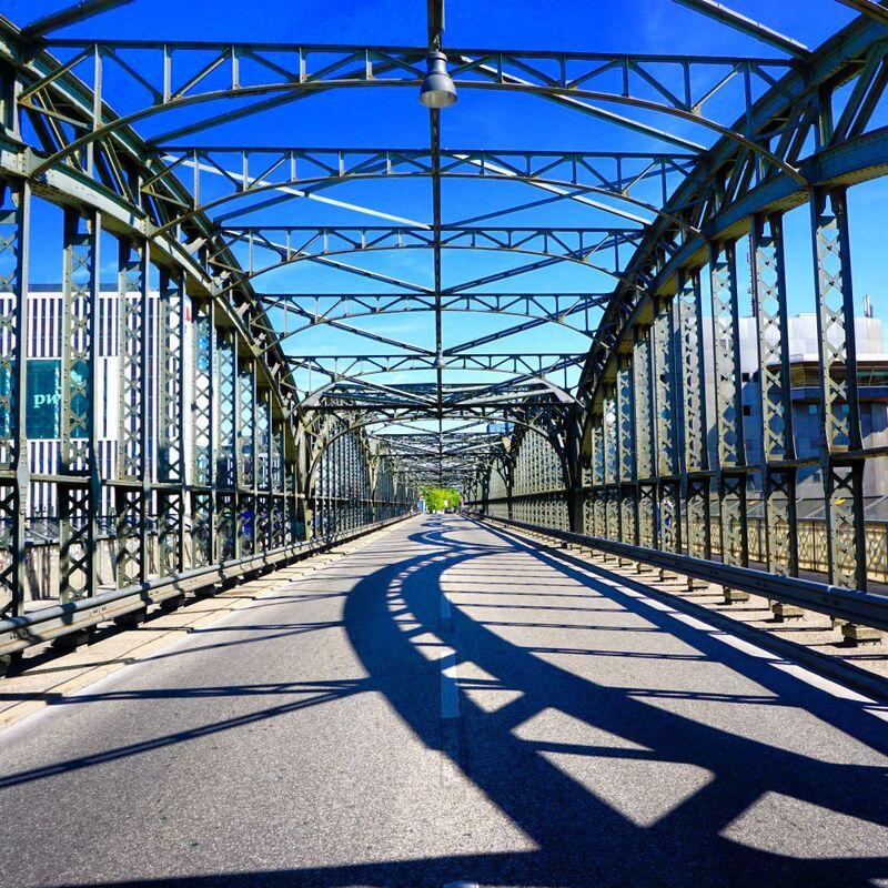 Hackerbrücke in München zum Radln perfekt, © Die Hackerbrücke - Foto:  Dirk Schiff/Portraitiert.de