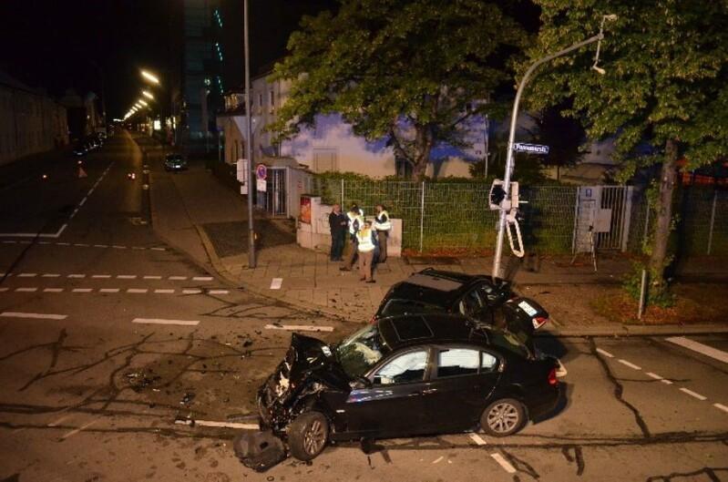 Schwerer Verkehrsunfall
