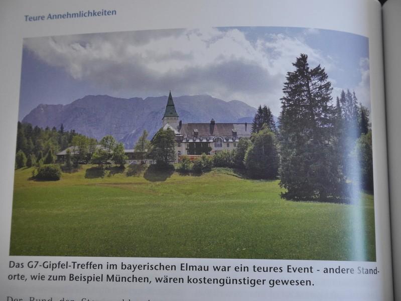 Bund der Steuerzahler: G7-Gipfel in Schloss Elmau, © Bund der Steuerzahler: G7-Gipfel in Schloss Elmau