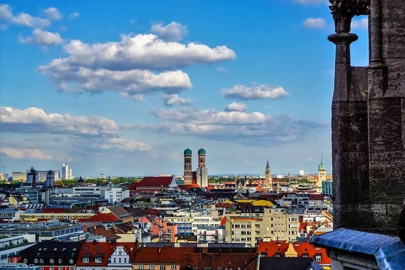 © Panorama über München - Foto:  Dirk Schiff/Portraitiert.de