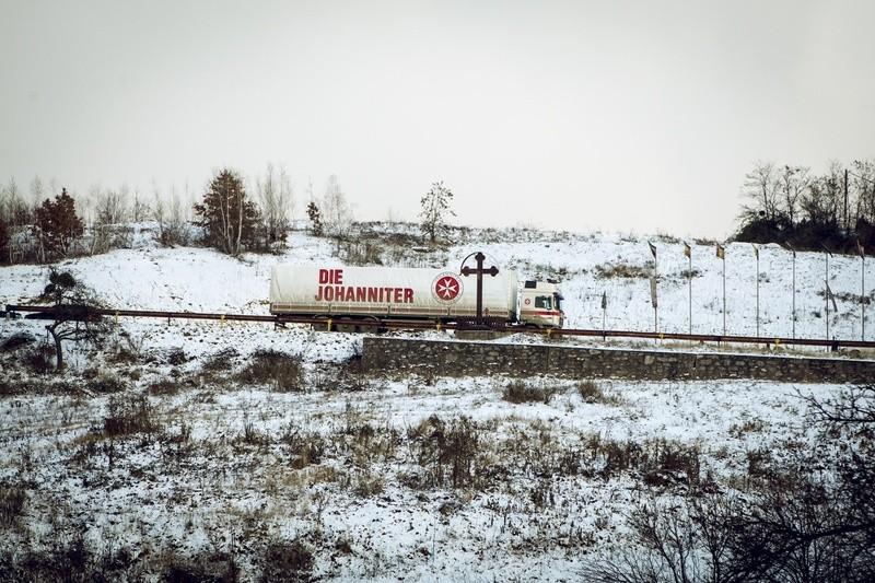 Der Weihnachtstrucker unterwegs, © Foto: Tobias Grosser