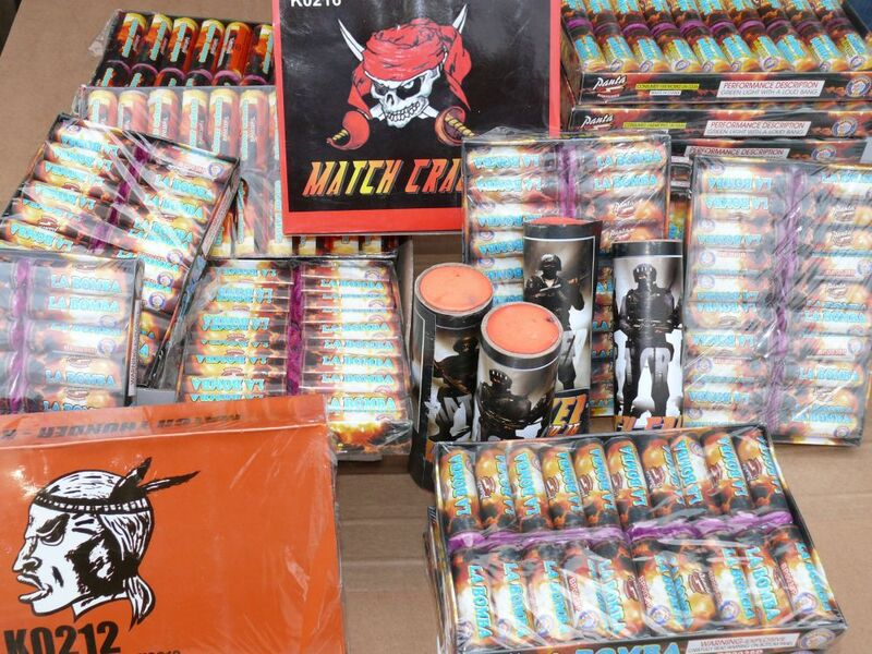 raketen, böller, silvester, verboten, polizei, © Bundespolizei: Verbotene Knallkörper