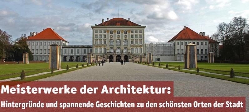 nymphenburger schloss als topthema für architektur seite