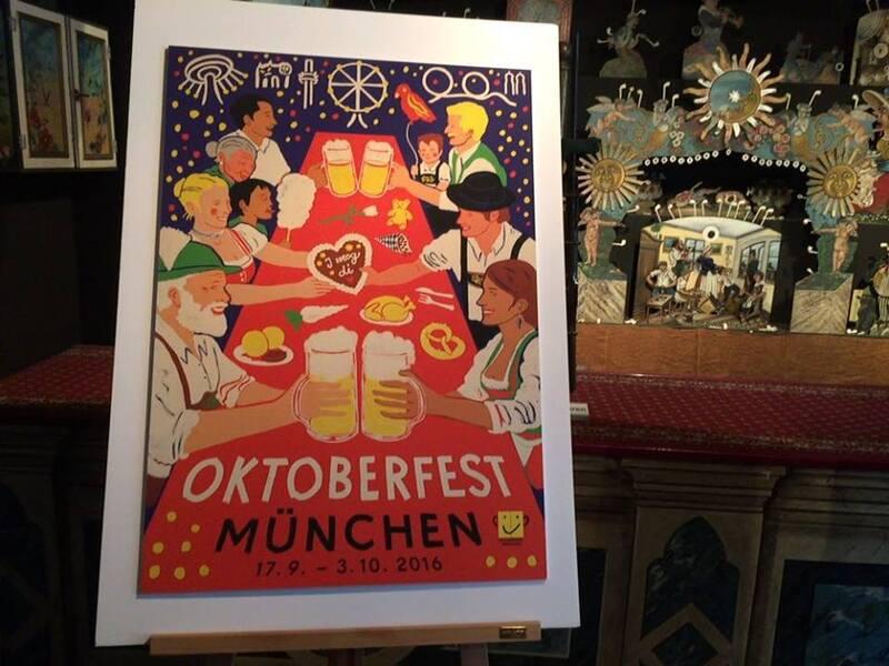 Wiesnplakat 2016 Platz 3 Oktoberfest