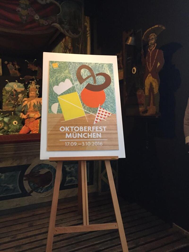 Wiesnplakat 2016 Platz 2 Oktoberfest
