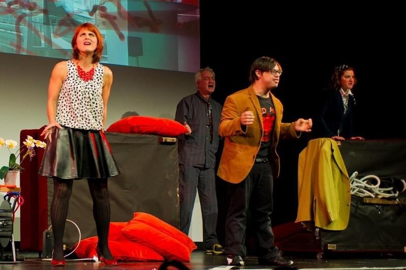 © Theateraufführung der Freien Bühne München