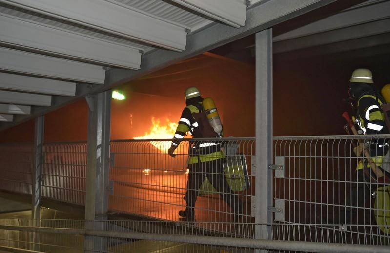 © Feuerwehr im Einsatz in der Landsberger Straße