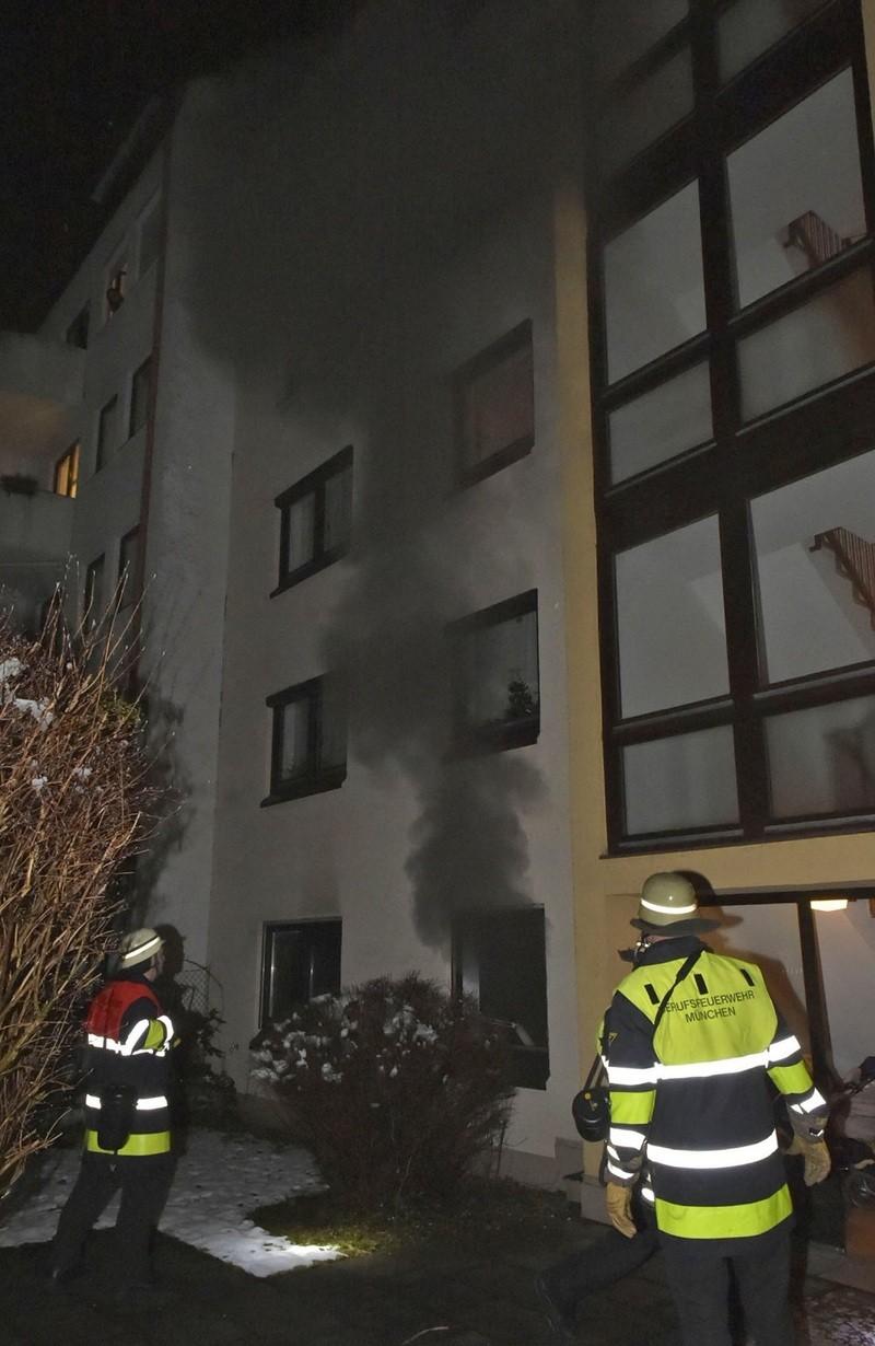 © Brand durch Herdplatte verursacht. Foto: Berufsfeuerwehr München