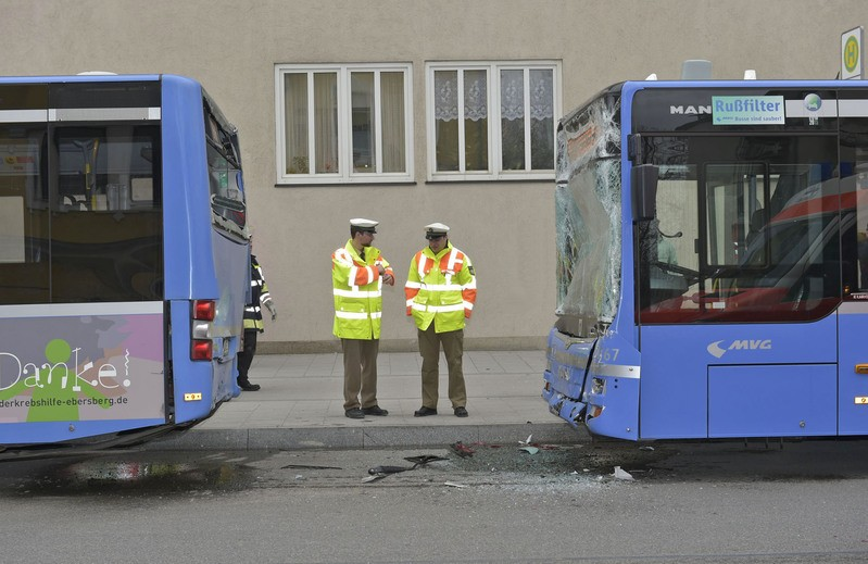 Busunfall Harras, © Foto: Berufsfeuerwehr München