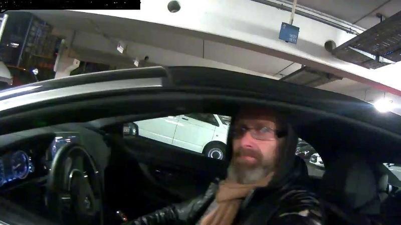 Fahndung: Älterer Mann im gestohlenen BMW, © Polizeiinspektion Flughafen München