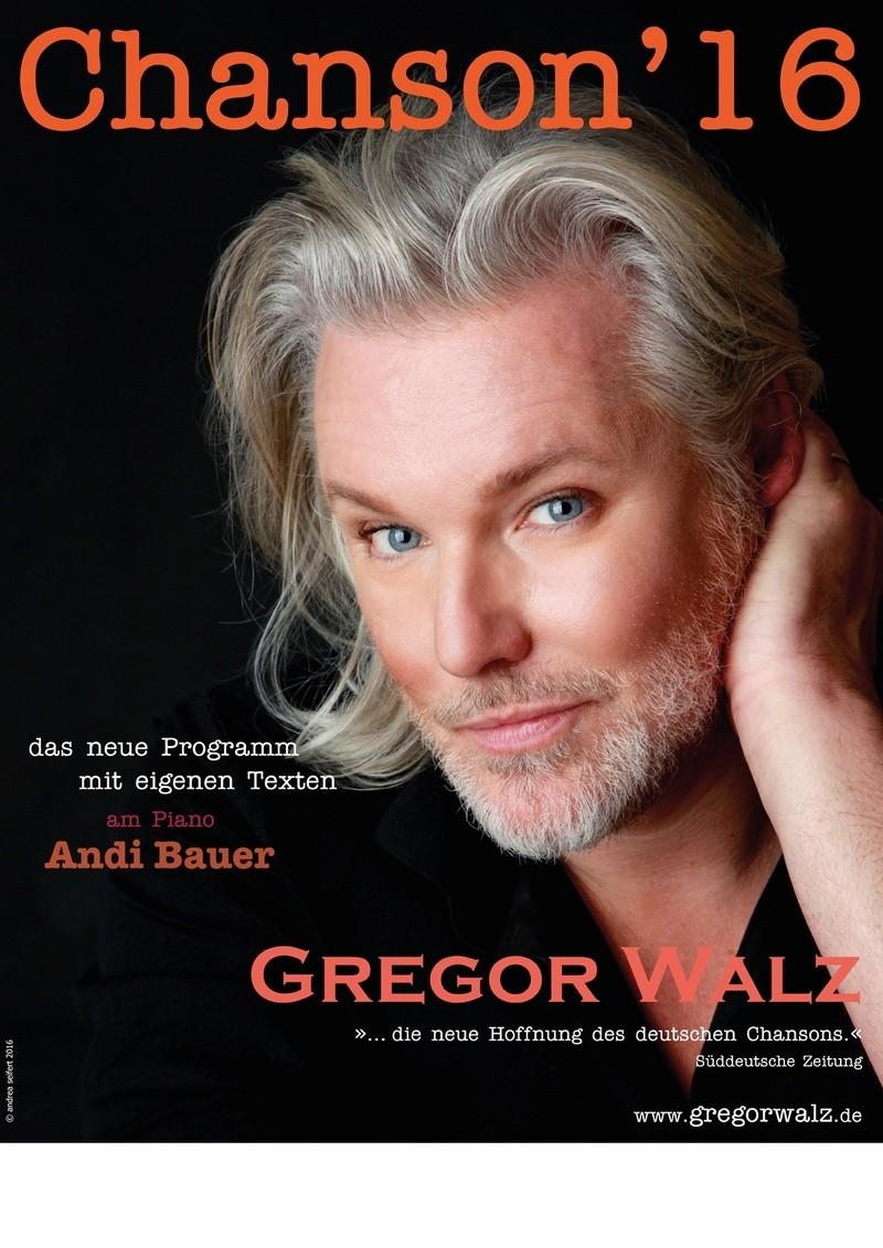 Gregor Walz singt Chanson, Konzert