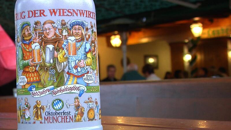 Oktoberfest Krug Wiesn Wirte, © So sieht der diesjährige Wirte-Krug aus