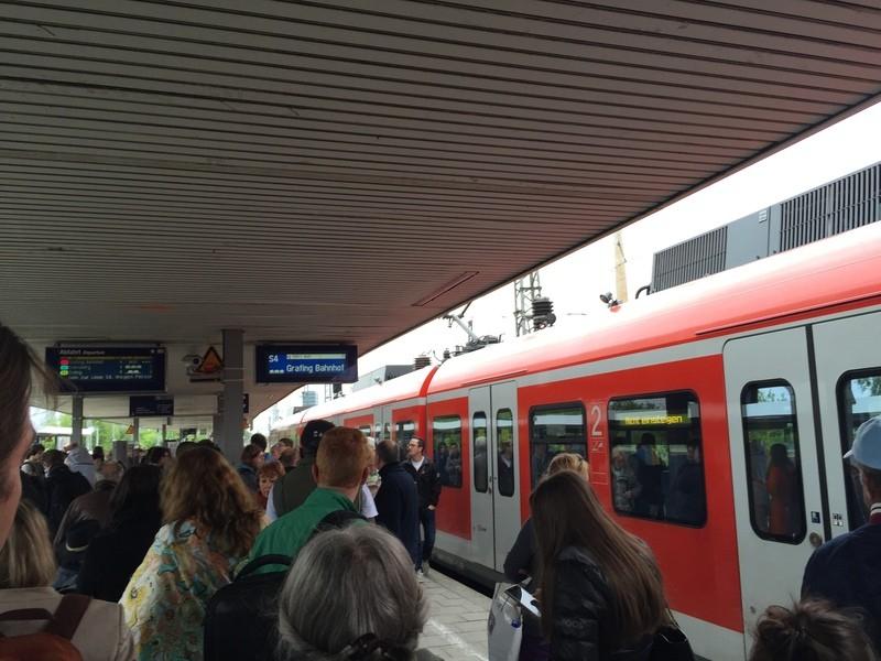 S-Bahn München: Störung wegen Personen im Gleis, © Symbolfoto