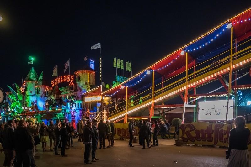 Oktoberfest: Toboggan auf der Wiesn