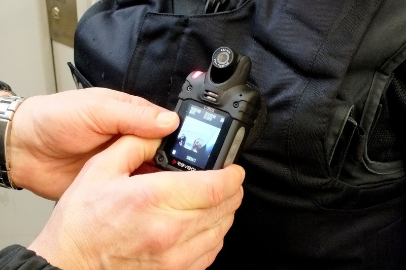BodyCams im Test, © Foto: Bundespolizei