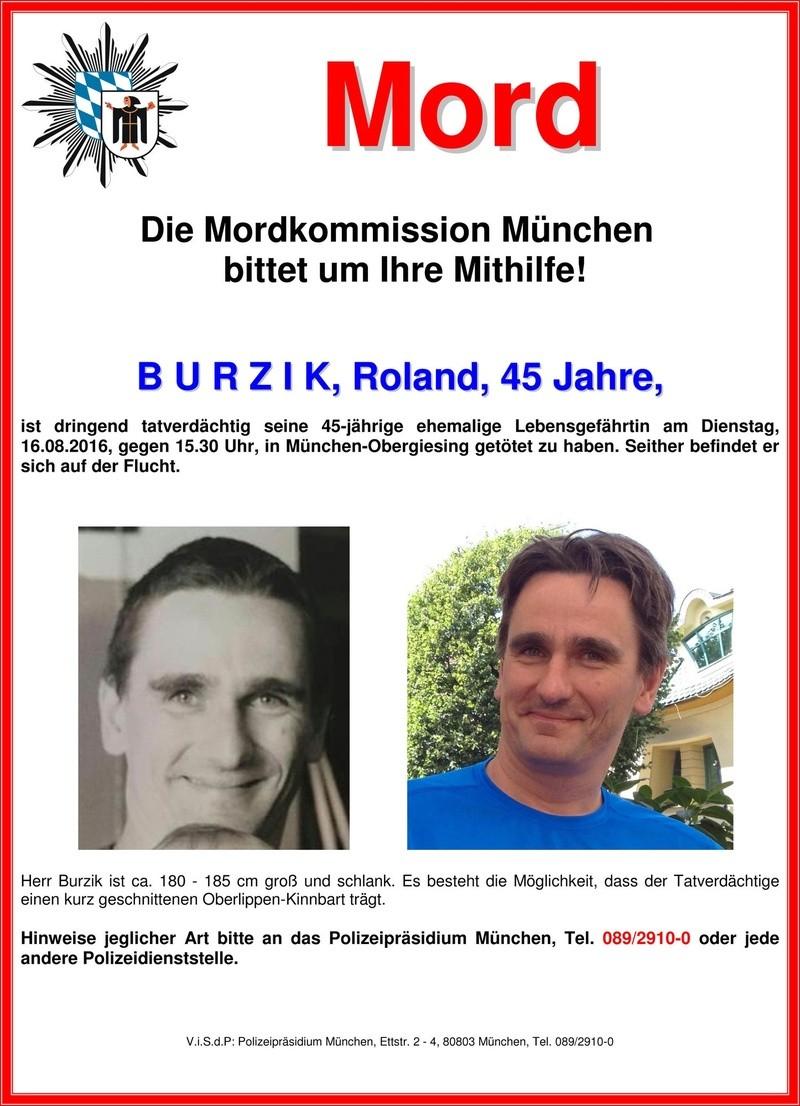 © Die Polizei sucht nach Roland Burzik.