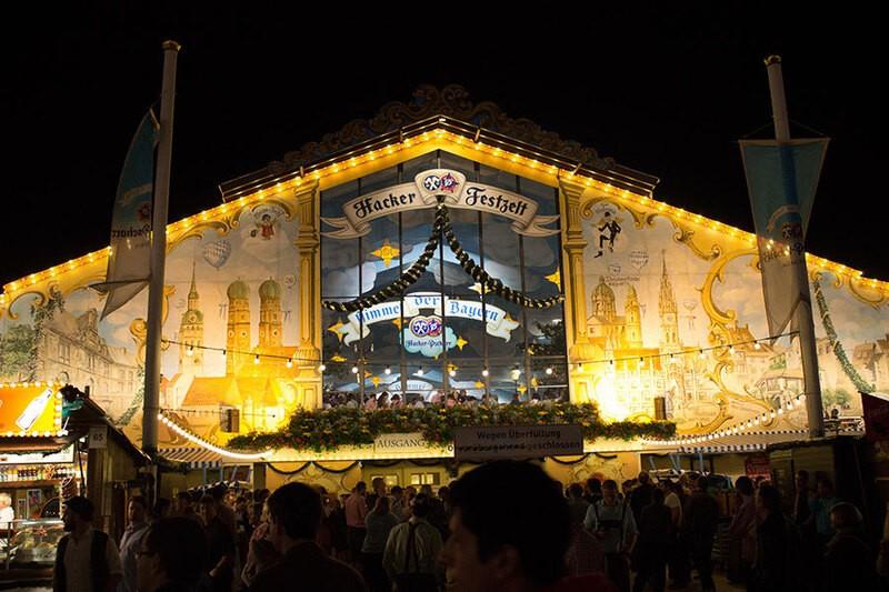 Bilder Oktoberfest München Hacker Festzelt Wiesn
