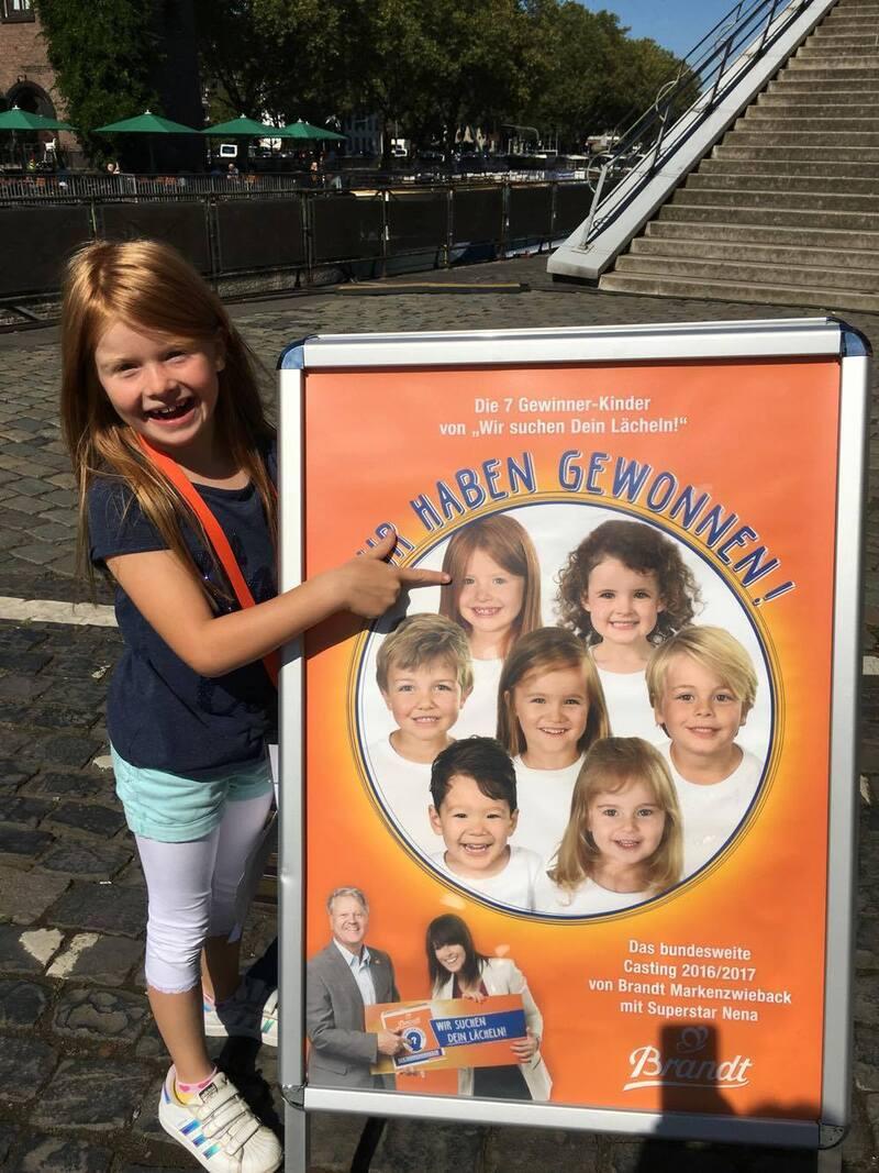 Mia-Sophie aus München wird das neue Brandt-Zwieback-Gesicht, © Mia-Sophie aus München wird das neue Brandt-Gesicht