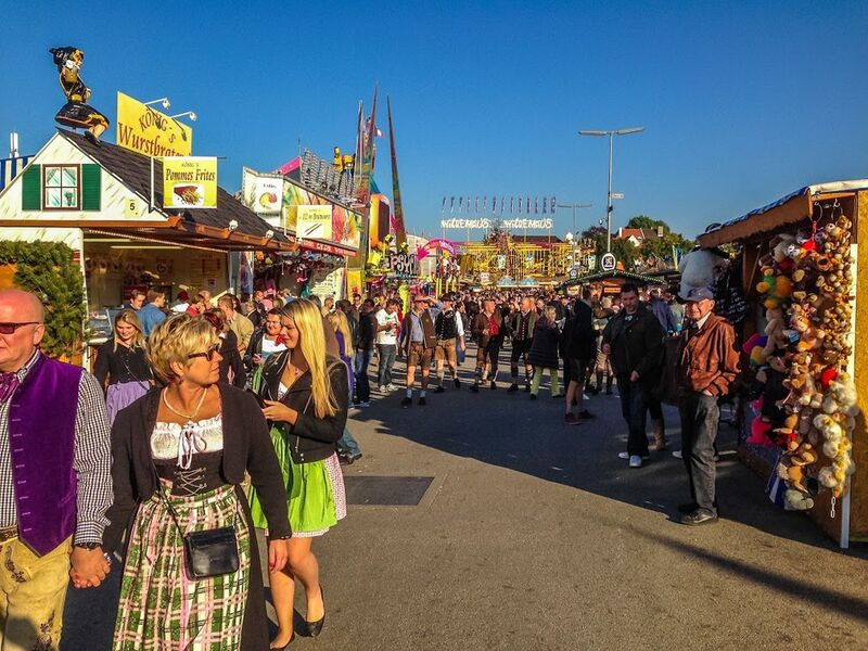 München Theresienwiese Wiesnplatz Oktoberfest