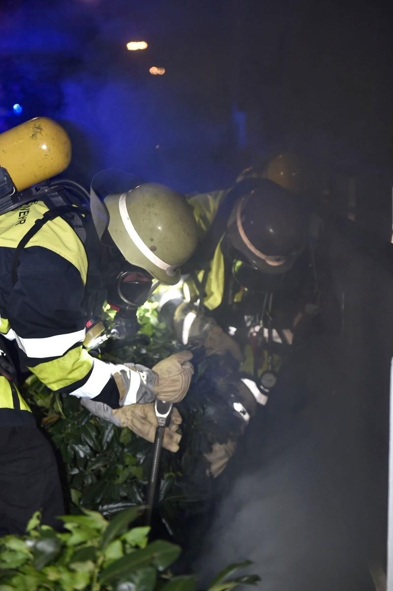 Der Kabelbrand in der Erzgießereistraße., © Foto: Berufsfeuerwehr München