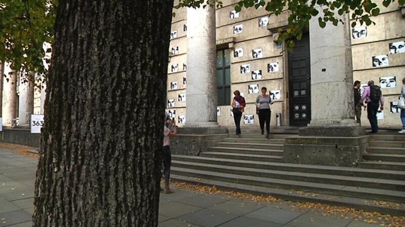 Die Fassade vom Haus der Kunst, © Das Haus der Kunst in München.