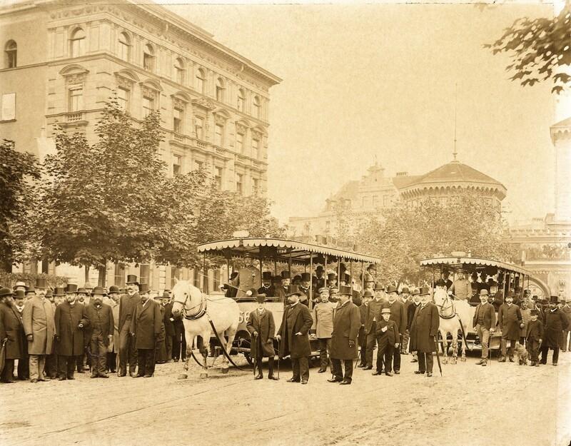 Pferdetram, © Foto: Bildarchiv der Freunde des Münchner Trambahnmuseums e.V.