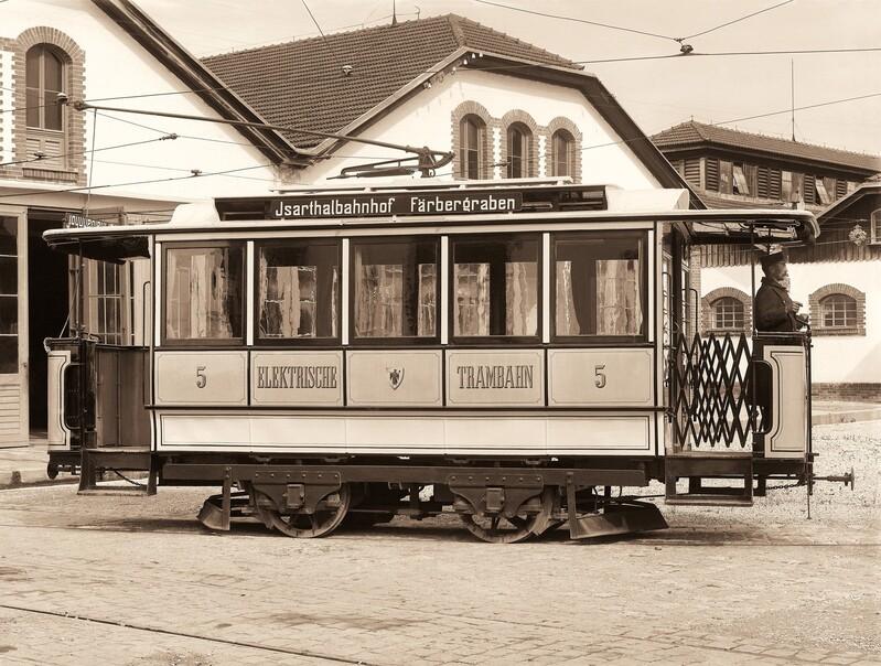 Typ-Z-TW-Wagen, © Foto: Bildarchiv der Freunde des Münchner Trambahnmuseums e.V.