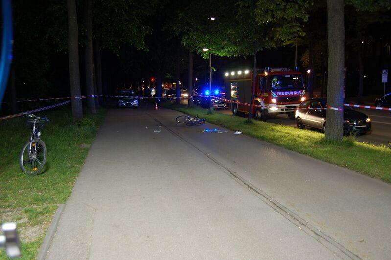 Isarmörder: Hier kam Domenico L. ums Leben, © Hier geschah das Verbrechen. Foto: Polizei München
