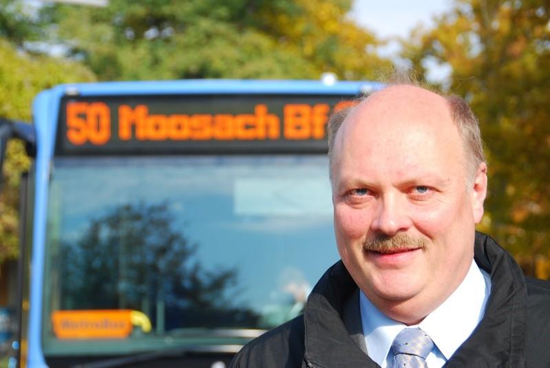 Andreas nagel vor 50 bus richtung Moosach bahnhof, © Aktion Münchner Fahrgäste