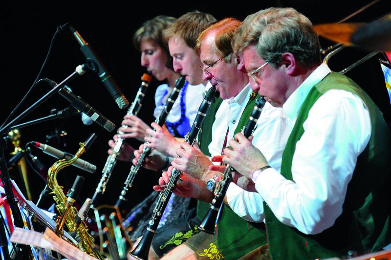 Musiker beim Oide Wiesn Bürgerball, © Susanne Bartel_Sbphotodesign