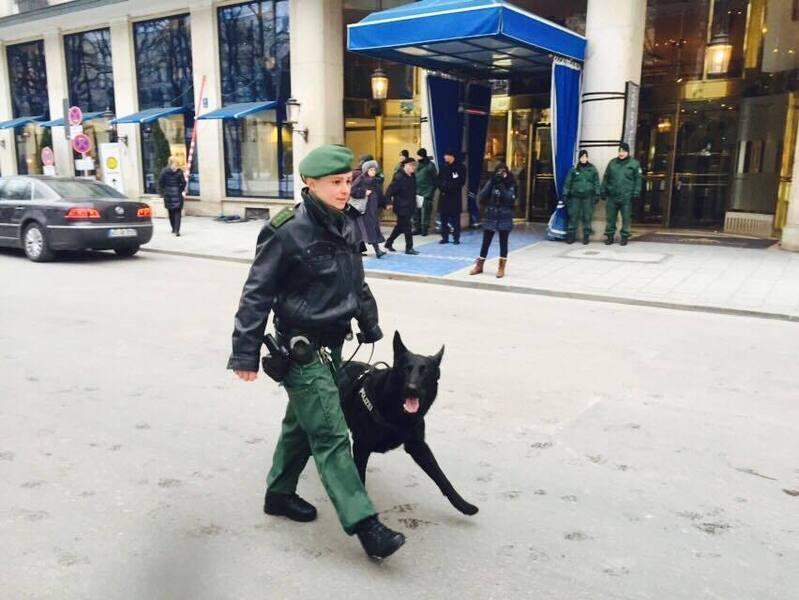 sicherheitskonferenz münchen spürhund