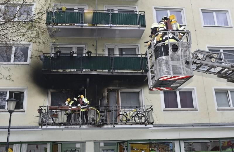 Am Ostermontag brennt ein Balkon an der Artilleriestrasse
